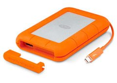 LaCie 2TB Rugged Thunderbolt & USB 3.0