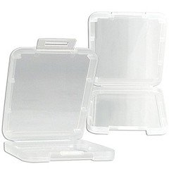 Plastic Compact Flash Card Case