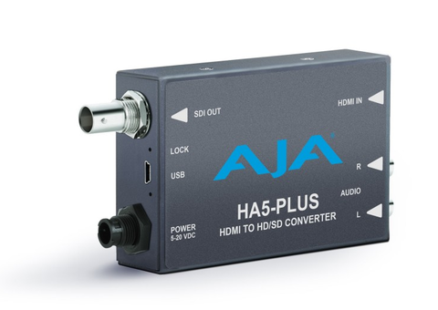 AJA Mini Converter - HA5-Plus HDMI to HD/SD