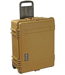 Pelican 1610NF Case (No Foam) - Desert Tan