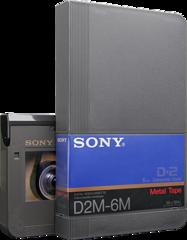 Sony D2M-6M