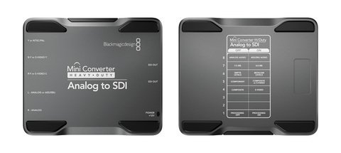 Blackmagic Design Mini Converter - Heavy Duty - Analog to SDI