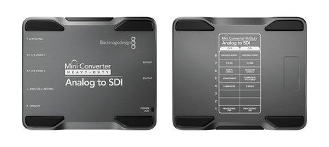 Blackmagic Design Mini Converter - Heavy Duty - Analog to SDI
