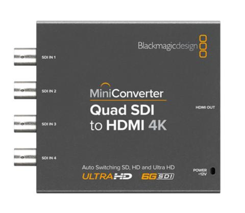 Blackmagic Design Mini Converter - Quad SDI to HDMI 4K