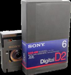 Sony D2S-6M