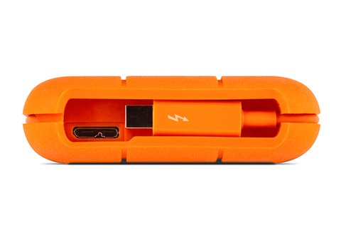 LaCie 500GB Rugged Thunderbolt & USB 3.0 - SSD