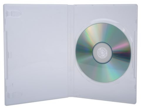 Evergreen Full Sleeve Clear DVD Case