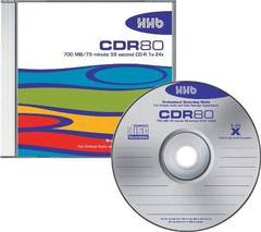 HHB CD-R Logo Branded - 10 Discs