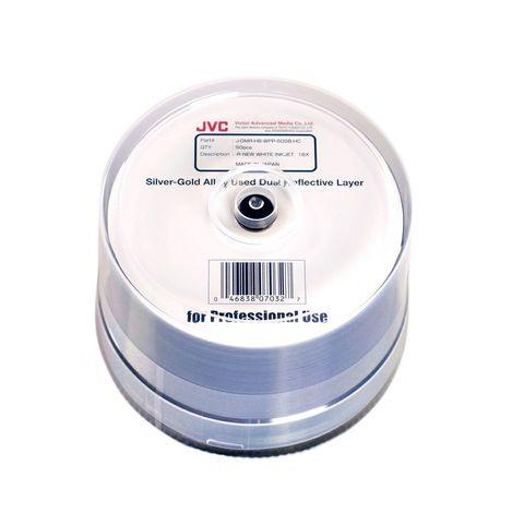 16x DVD-R White Inkjet Printable - 50 Discs