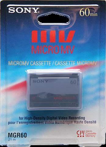 Sony Micro MV 60 Minutes