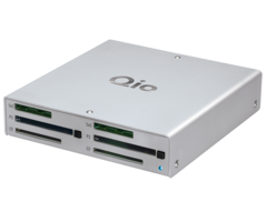 Qio Professional Media Reader with Thunderbolt - QIO-TB