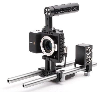 Wooden Camera Fixed Kit for Blackmagic Pocket Cinema Camera