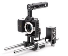Wooden Camera Fixed Kit for Blackmagic Pocket Cinema Camera
