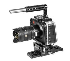 Wooden Camera Top Handle with Cheese Grip