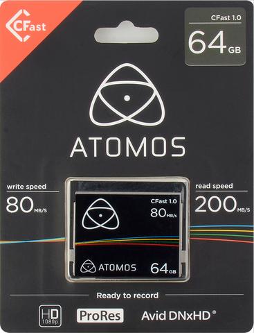 Atomos 64GB CFast 1.0 Memory Card