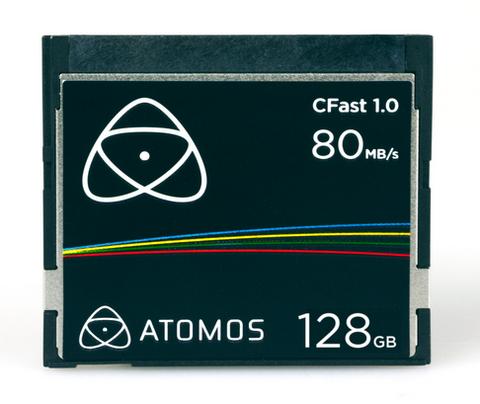 Atomos 128GB CFast 1.0 Memory Card