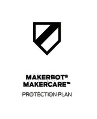 MakerBot MakerCare Protection Plan for Replicator (5th Gen) 3D Printer - 3 Year