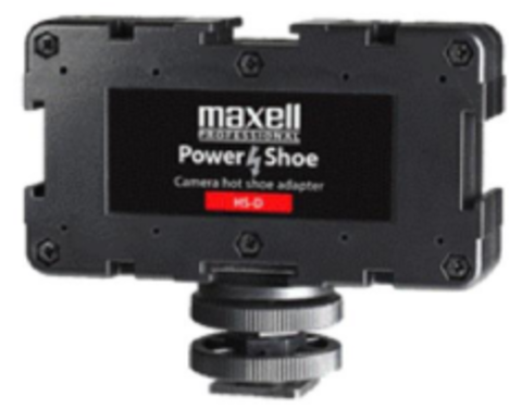 Maxell HS-D 3-Way Power Shoe Adapter
