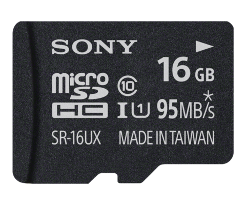 16 GB MicroSD Class 10 / UHS-1