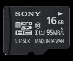 Sony 16 GB MicroSD Class 10 / UHS-1