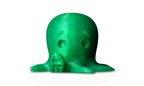 MakerBot PLA Filament - Translucent Green, Small Spool - MP05761