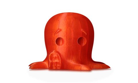 MakerBot PLA Filament - Translucent Orange, Small Spool - MP05765