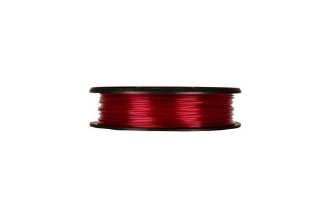 PLA Filament - Translucent Red, Small Spool - MP05763