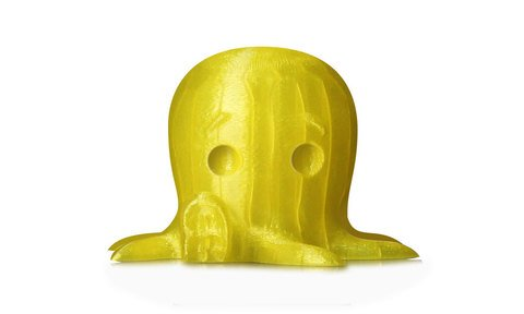 MakerBot PLA Filament - Translucent Yellow, Small Spool - MP05767