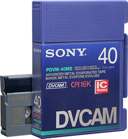 DVCAM IC Memory PDVM-40ME/2