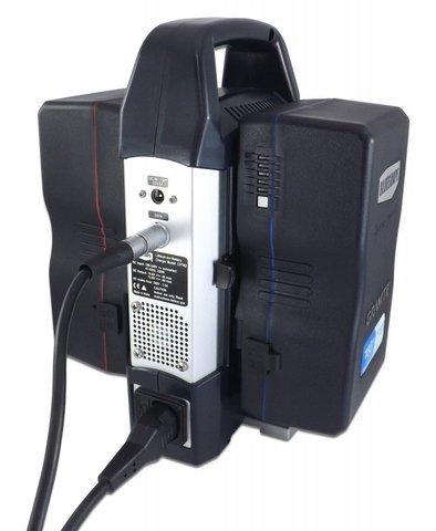Blueshape CVTR2 2-Channel Portable V-Lock Battery Charger