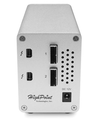 HighPoint RocketStor 6328 Dual Thunderbolt 2 RAID Adapter