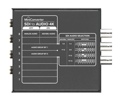 Blackmagic Design Mini Converter - SDI to Audio 4K