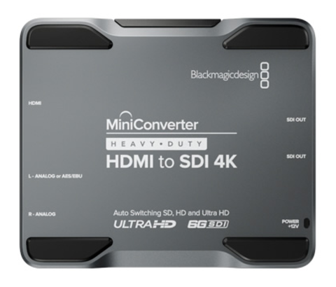 Blackmagic Design Mini Converter - Heavy Duty - HDMI to SDI 4K