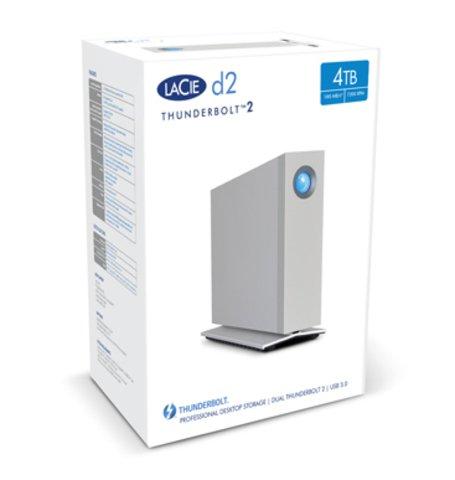 LaCie 4TB d2 Thunderbolt 2 & USB 3.0
