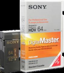 Sony PHDV-64DM