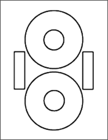 Ace 60360B CD Label