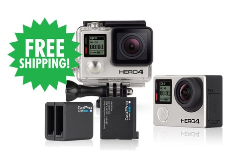 HERO4 Black & Dual Battery Charger (with Rechargeable Battery)
