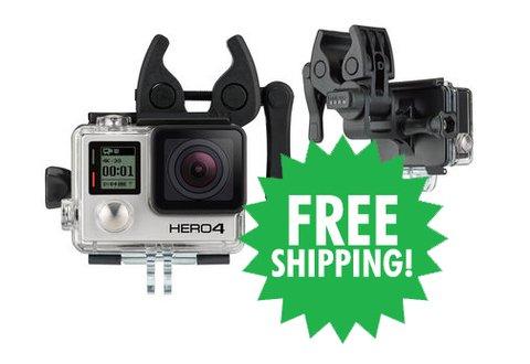 GoPro HERO4 Black & Sportsman Mount