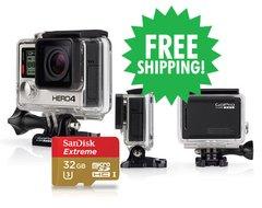 GoPro HERO4 Black & SanDisk Extreme 32GB microSDHC Card