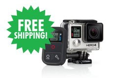 GoPro HERO4 Black & Smart Remote