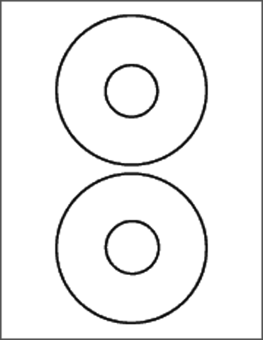Ace 61200C CD Label