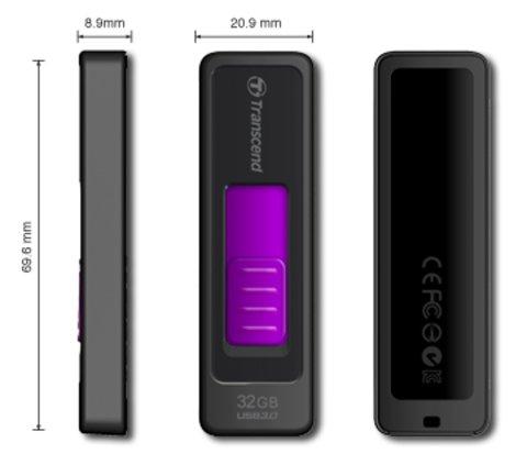 Transcend 32GB JetFlash 760 USB 3.0 Flash Drive