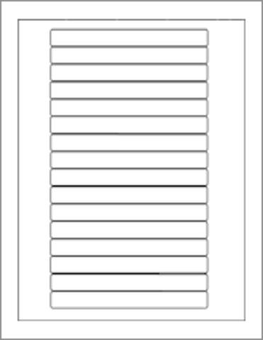 50600-C VHS Spine Label