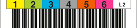 Tri-Optic LTO2 Horizontal Label