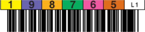 LTO1 Horizontal Label