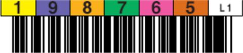 Tri-Optic LTO1 Horizontal Label