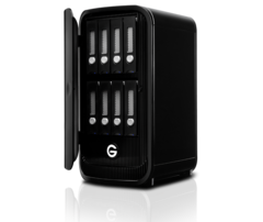 G-Technology 32TB G-SPEED Studio XL with Thunderbolt 2
