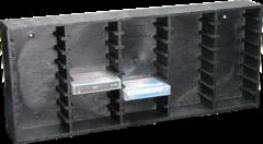 DAT-MiniDisc Rack 40
