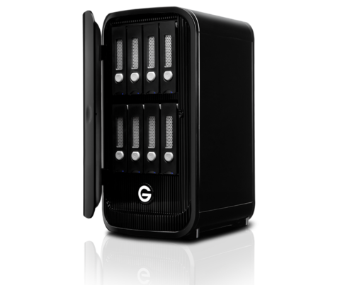 G-Technology 64TB G-SPEED Studio XL with Thunderbolt 2