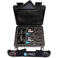 UK Pro POV40 Waterproof GoPro Hard Case with Shoulder Strap